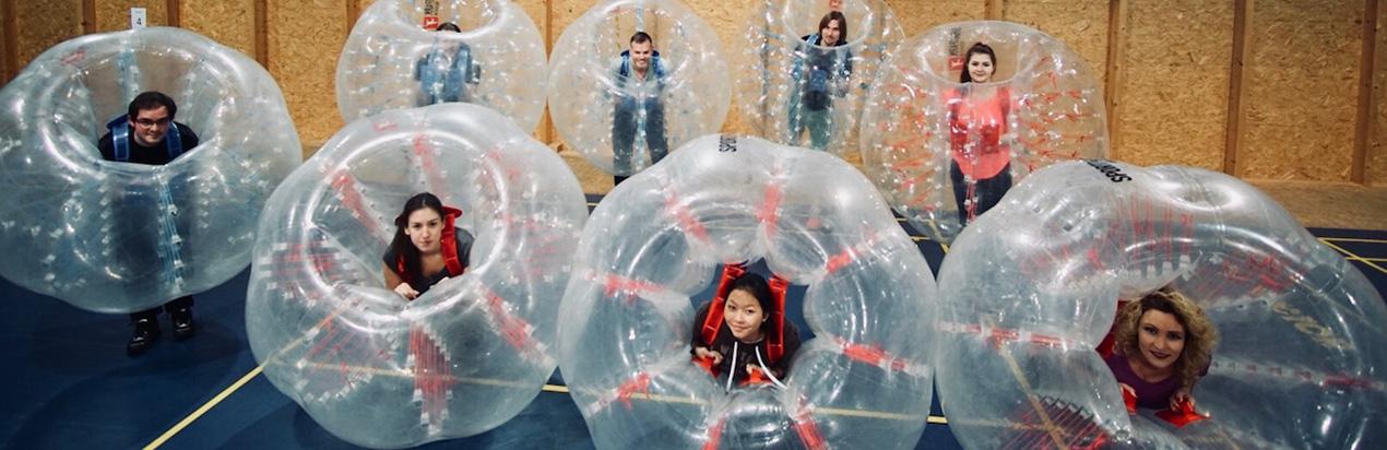 Bubble Football Sportpark Kelkheim Klettern Ballsport