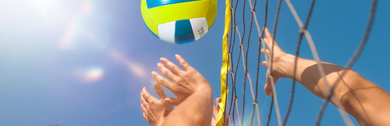 Beachvolleyball Sportpark Kelkheim Klettern Ballsport