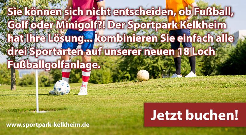 Fussballgolf Sportpark Kelkheim Klettern Ballsport